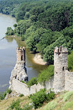 Devin castle near Bratislava (at the border with Austria)