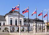Grassalkovich Palace (Grasalkovicov Palac), Bratislava.