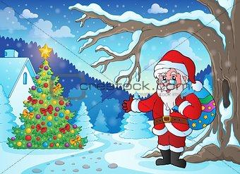 Christmas outdoor theme 1