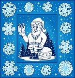 Christmas topic greeting card 6