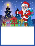 Small frame with Santa Claus 3