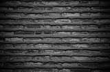 Dark Old Brick Wall Texture