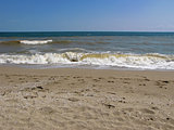 Splashing waves on the beach - Bulgarian seaside landscapes - Sinemorets