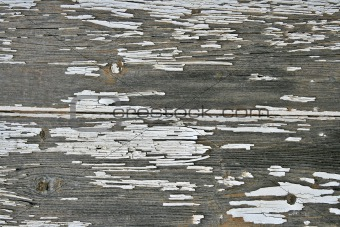 Aged Wooded Panel