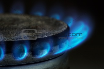 Gas burning