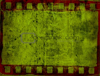 Great film frame for textures