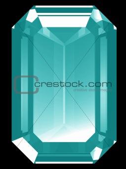 3d Aquamarine