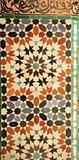 Ancient mosaic tiles