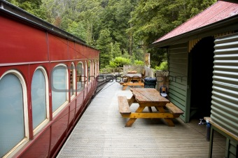 Old World Train Station