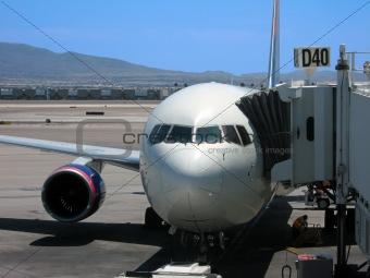 Airport at gate