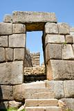 Sacsayhuaman Stairs and Doorway