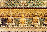 Thai Demon Guardian Statues