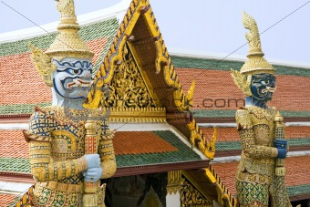 Thai Temple Guardians