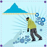 Snowboard Vector