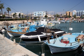Ayia Napa Harbour Scenic