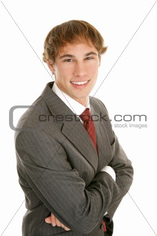 Confident Young Businessman