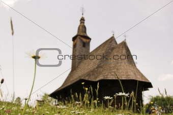 old church from Maramuresh, Romania