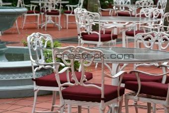 cafe setting