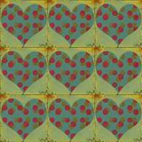 shabby chic, tiled valentine