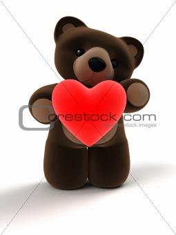3d teddy