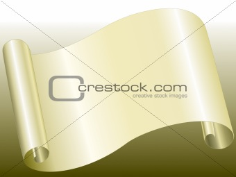 yellow color paper bended
