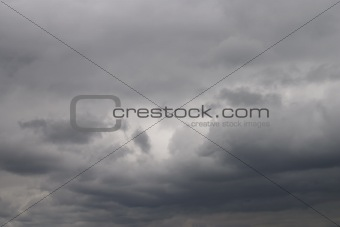 thunderstorm clouds