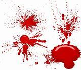 Splatters vector illustration