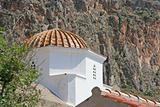 Church Dome in Monemvasia, Greece