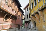 Plovdiv Narrow Street