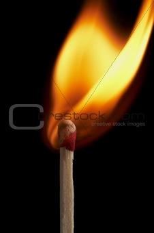burn start