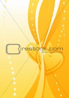 Valentine golden wallpaper 1