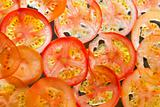 Tomato Slice Background