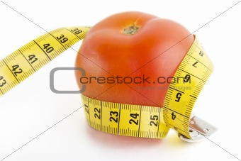 Tomato Tape Measure