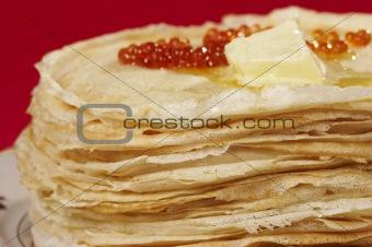 appetizing pancake