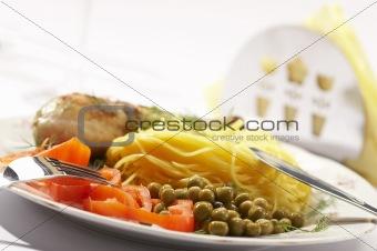 appetizing dinner