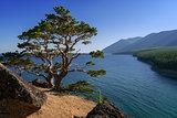 Above Lake Baikal