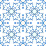 Snowflakes seamless pattern for winter design