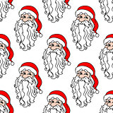 Santa Claus seamless pattern for christmas
