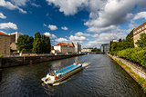Boat Trip in the Spree River, Berlin, Germany