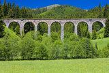 railway viaduct near Telgart, Slovakia