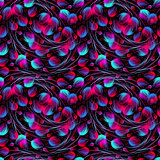Pattern in fuchsia and blue colors