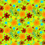 Bright and crazy summer pattern