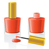 nail polish vector illustration