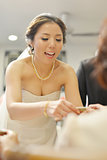 Traditional Asian Chinese wedding tea ceremony