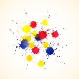 Colorful abstract watercolor backgrounds