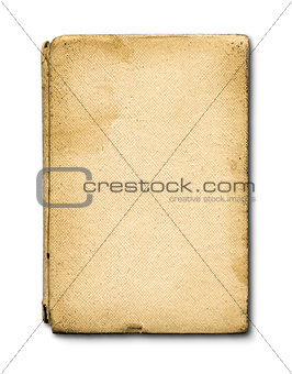 old grunge closed notebook