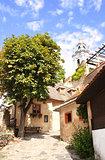 Old street in Durnstein, Austria