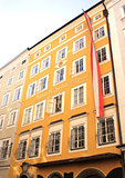 Famous House where Mozart was born, Salzburg