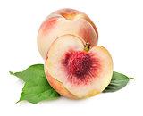 Sweet delicious peaches