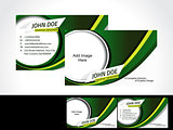 Green Business Card Design